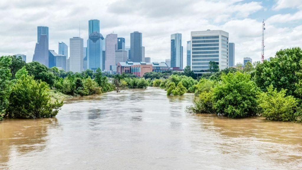 hurricane harvey flood water devistation