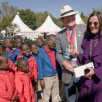 Dr. Pearse Lyons & Diedre Lyons with kids